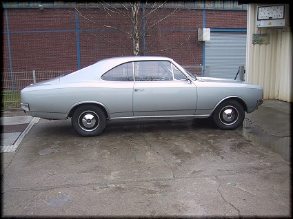 Opel Record C Coupé (1969)